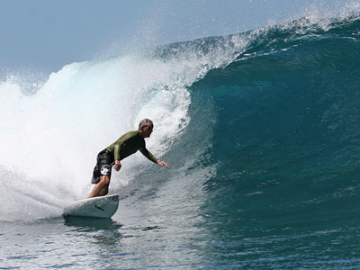 One of the reasons Dr.Bell loves Carlsbad is his passion for surfing.